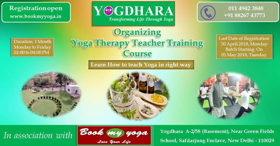 Yoga Therapy Teacher Training Course